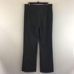 JM Collection Womens 12 Dress Pants Black